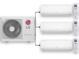 Мульти-сплит система LG PROMULT с монтажом в www.letomzima.ru